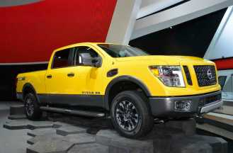 Huge Nissan Titan XD
