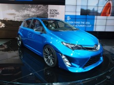 Scion iM Blue
