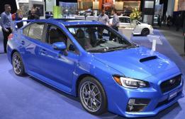 Detroit 2015 Subaru WRX STI