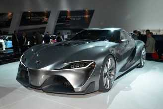 Another familiar face: the Toyota FT-1 concept