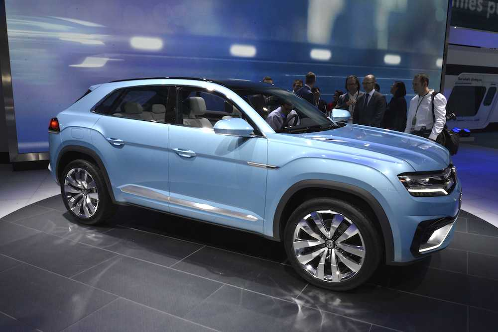 Car Manufacturers Ownership >> Detroit 2015 Volkswagen Cross Coupe GTE 001 | EngageSportMode