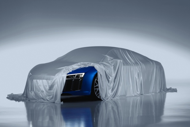 2015 New Audi R8 Geneva Laser Light Preview