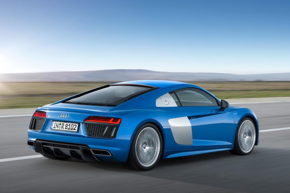 2015 New Audi R8 V10 Rear
