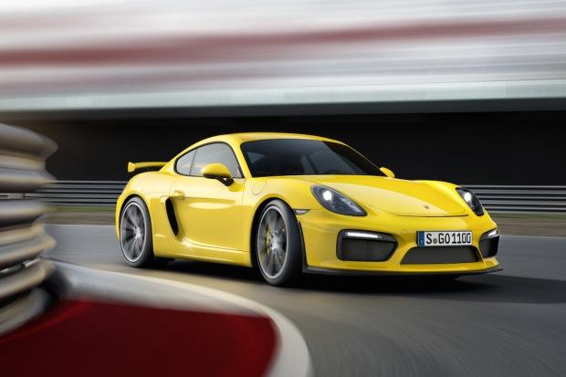 2015 Porsche Cayman GT4 001