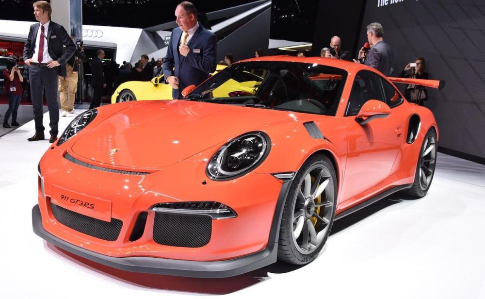2015 Geneva Porsche 911 GT3 RS