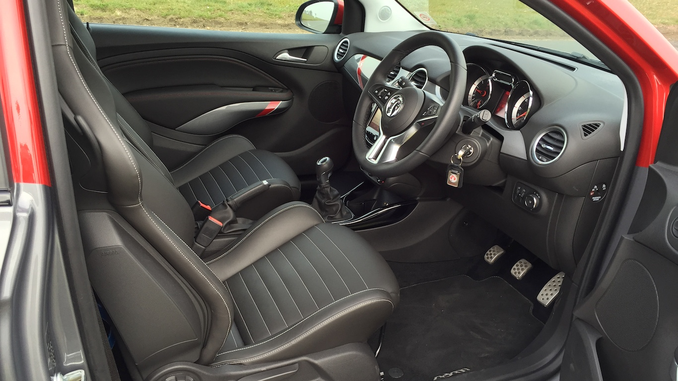2015 Vauxhall Adam Grand Slam Interior 006 Engagesportmode