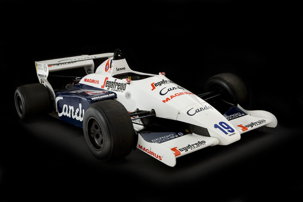 1984 Senna Toleman-Hart TG184-2