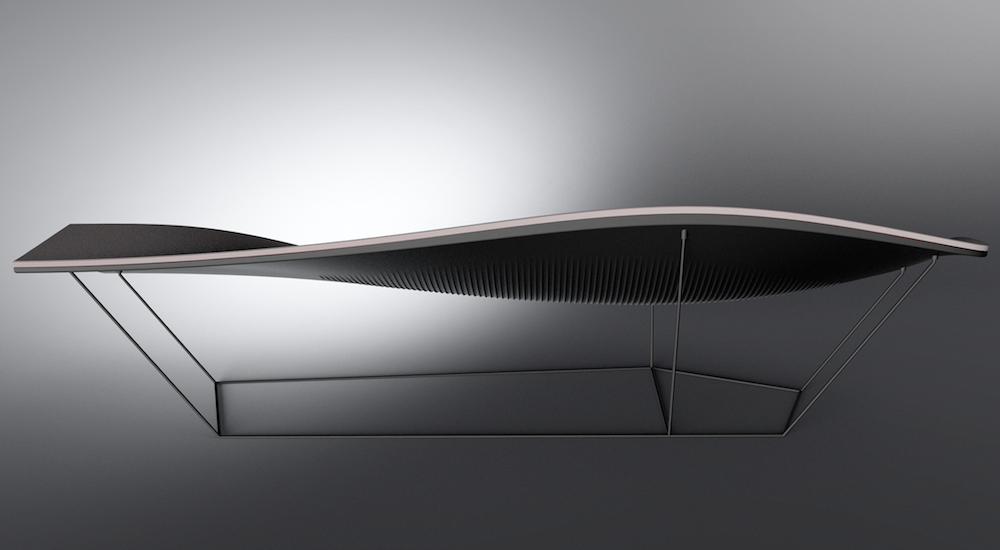 Inspired by Ford GT: Chaise Lounge