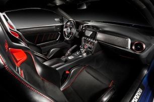 2015 Subaru BRZ STI Performance Concept Interior 005