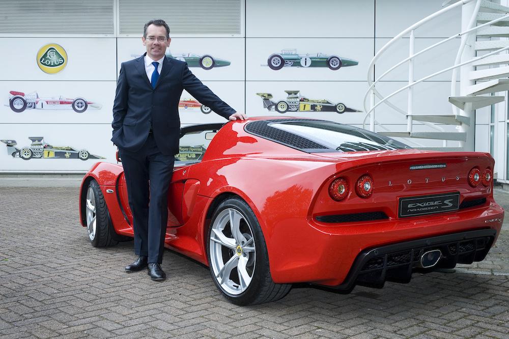 Jean-Marc Gales - Lotus Group CEO