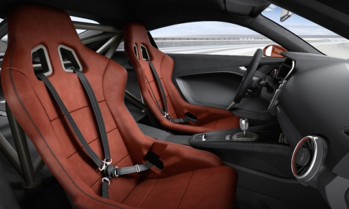 Audi TT clubsport turbo concept interior 08