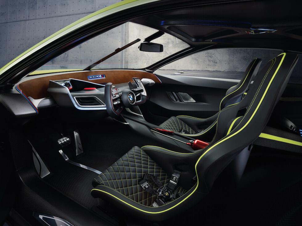 2015 BMW 3.0 CSL Hommage Interior 008
