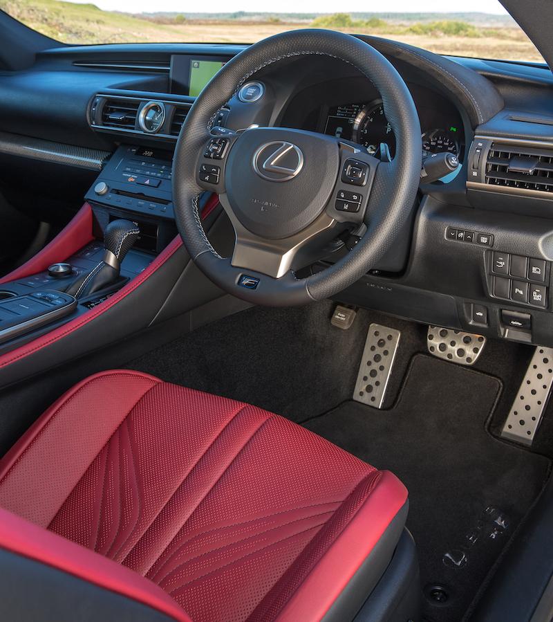 2015 Lexus Rc Suspension: 2015 Lexus RC F Interior