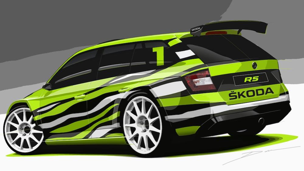 2015 Skoda Fabia R5 Estate Concept 002