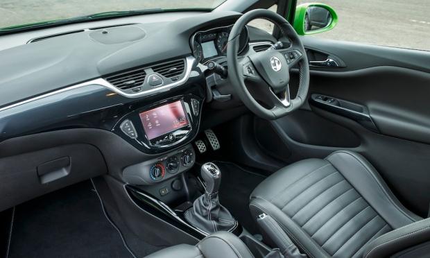 2015 Vauxhall Corsa VXR Interior 001