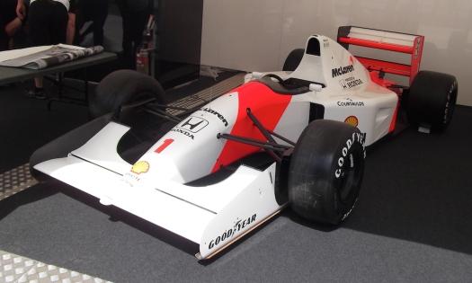 Ayrton Senna 1991 McLaren MP4/6 Goodwood