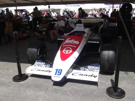 1984 Toleman-Hart TG184 Senna Goodwood