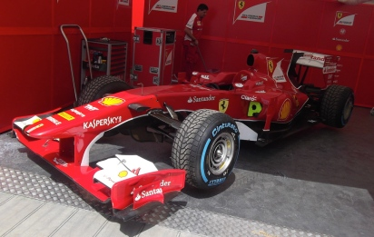 2010 Ferrari F10 Goodwood