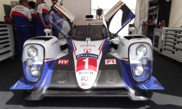 2015 Toyota TS040 Hybrid Goodwood