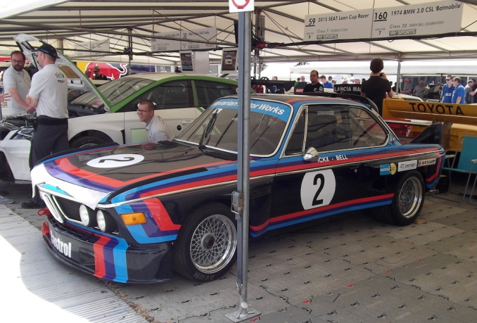 "1974 BMW 3.0 CSL ""Batmobile' Goodwood"