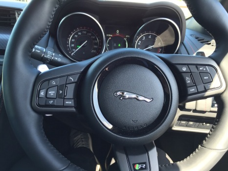 2015 Jaguar F-Type R Coupe Interior 002