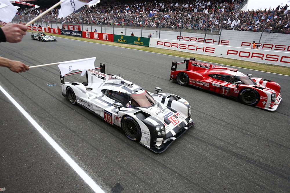 2015 Le Mans Porsche 919 Race 001