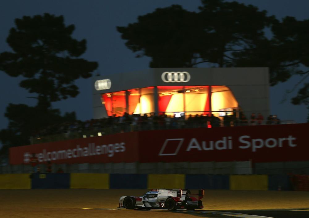 2015 Le Mans Quali Audi R18 e-tron quattro