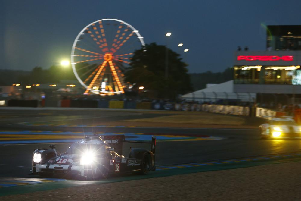 2015 Le Mans Quali Porsche 919 Hybrid