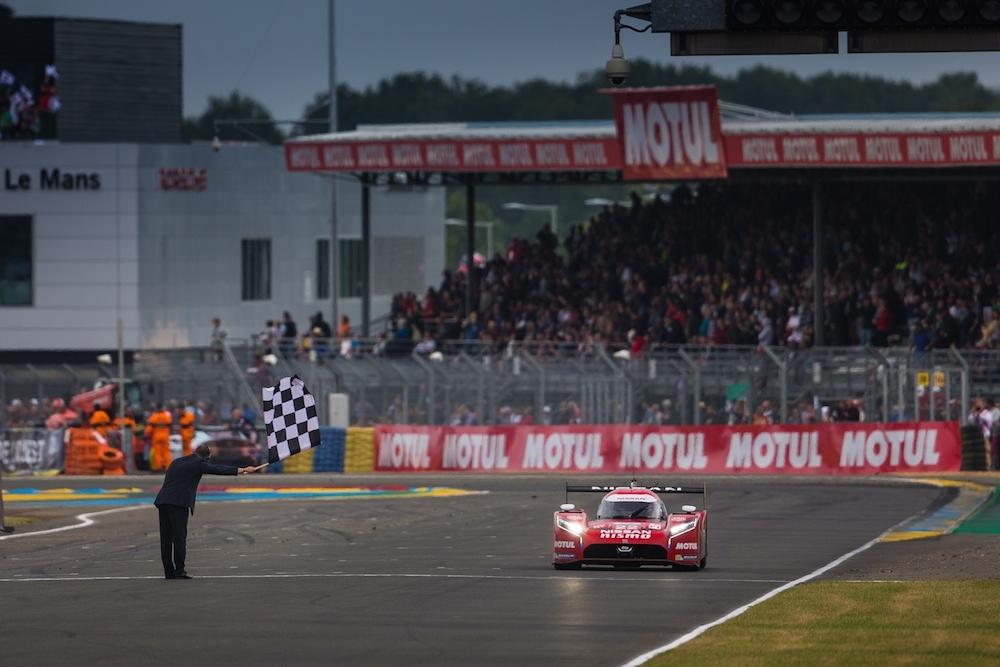 2015 Le Mans Race Nissan GT-R LM NISMO