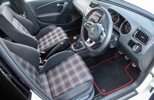 SMMT 2015 VW Polo GTI 003 Interior