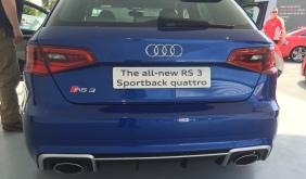 2015 Goodwood FOS 2015 Audi RS3