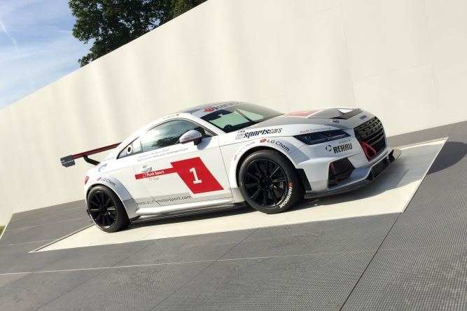 2015 Goodwood FOS Audi TT Cup