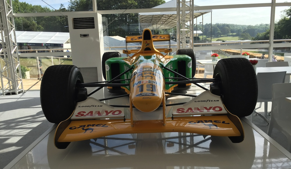 2015 Goodwood FOS Benetton