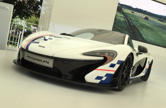2015 Goodwood FOS McLaren P1 Prost Edition
