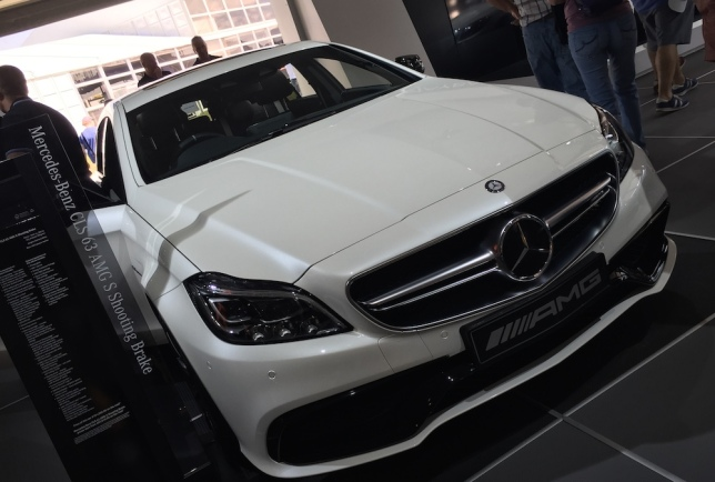 2015 Goodwood FOS Mercedes-Benz CLS 63 AMG Shooting Brake