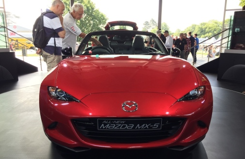 2015 Goodwood FOS New Mazda MX-5