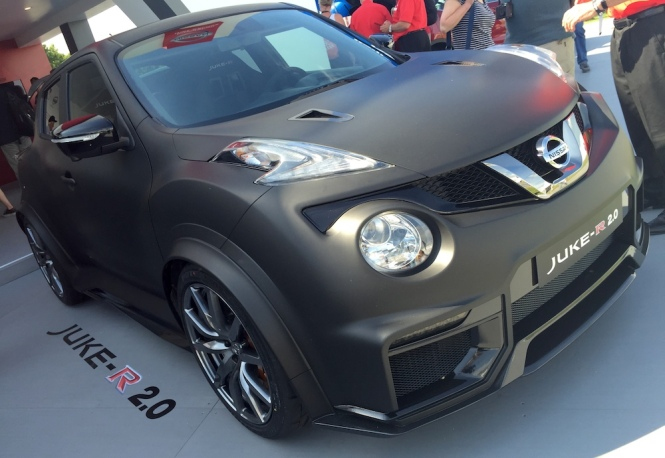 2015 Goodwood FOS Nissan Juke-R 2.0