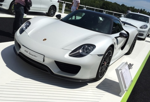 2015 Goodwood FOS Porsche 918 Spyder