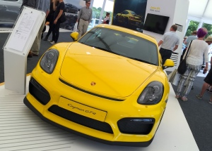 2015 Goodwood FOS Porsche Cayman GT4