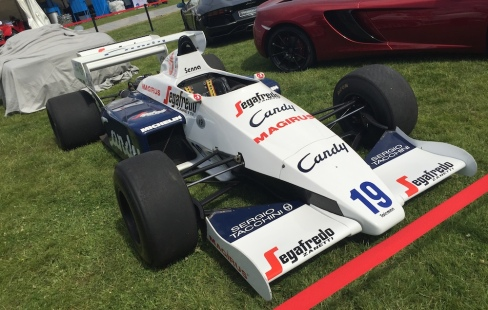 2015 Goodwood FOS Toleman-Hart TG184 Senna