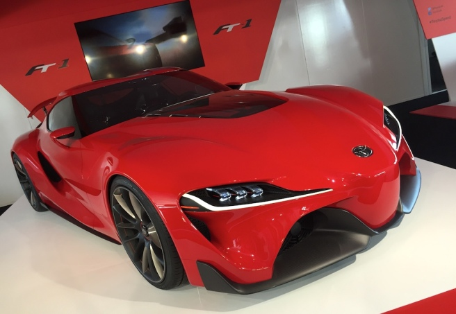 2015 Goodwood FOS Toyota FT-1 Concept
