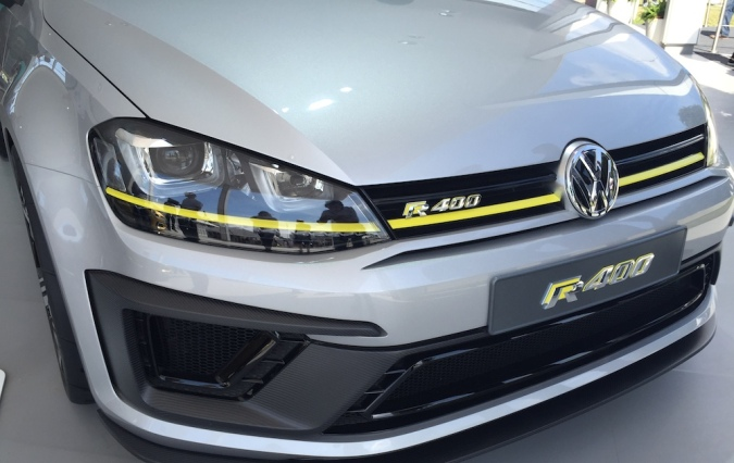 2015 Goodwood FOS Volkswagen Golf R400