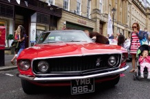 2015 NE1 Motor Show Mustang