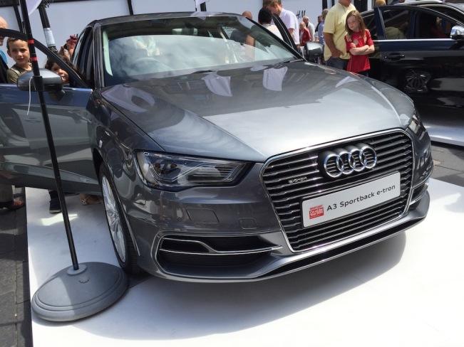 2015 NE1 Motor Show Audi A3 e-tron