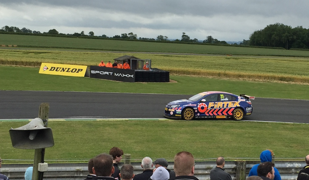 2013 Champion Andrew Jordan had a tough weekend