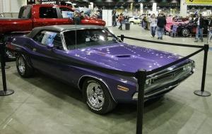 1971 Dodge Challenger Convertible Plum Crazy