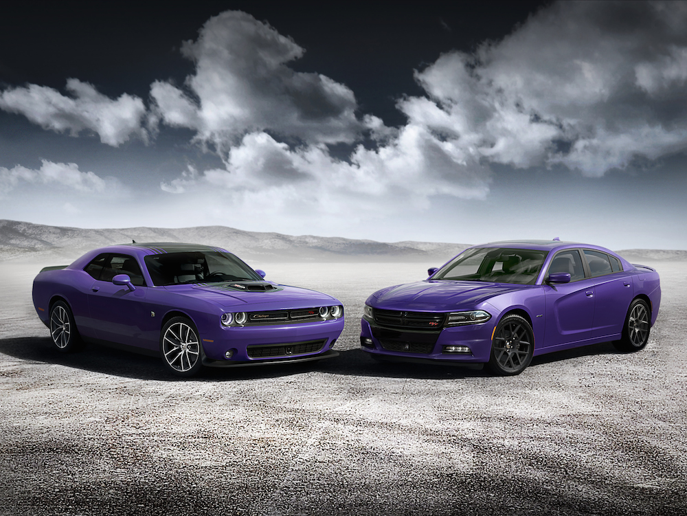 2016 Dodge Challenger and Dodge Charger