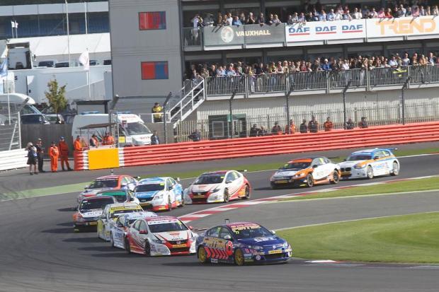 2015 BTCC Silverstone