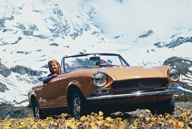 1966 Fiat 124 Sport Spider