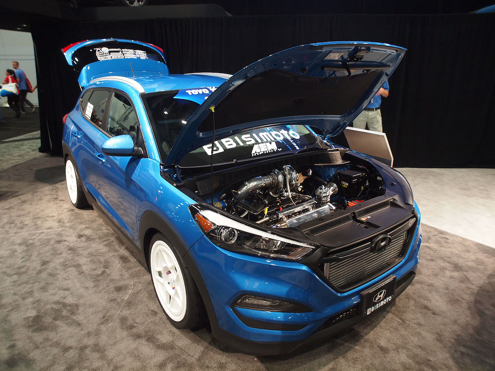 2015 SEMA Hyundai Tucson Bisimoto 001